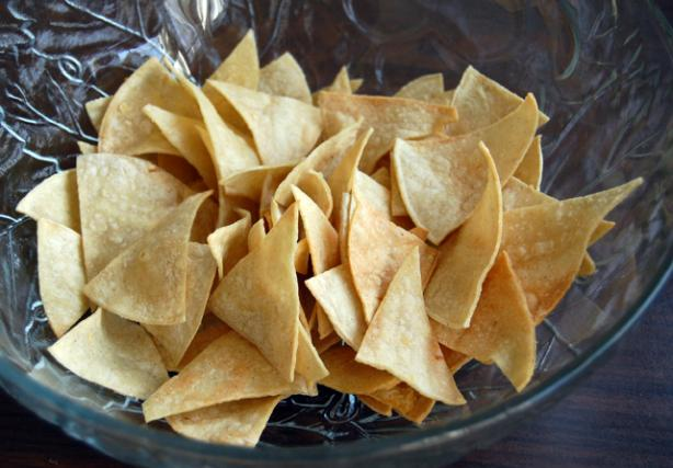 Homemade Tortilla Chips. Photo by rosaK