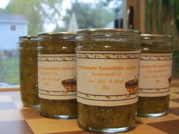 Pineapple Tomatillo Salsa. Photo by Rita~