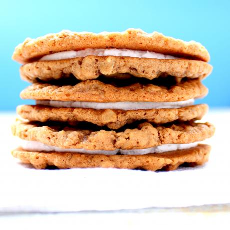 Homemade Oatmeal Cream Pies. Photo by spicyperspective
