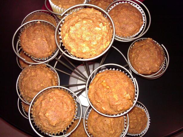 Moist Pumpkin Oatmeal Muffins. Photo by mersaydees
