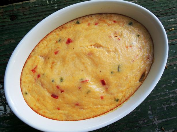 Chili-Cheese Grits. Photo by gailanng