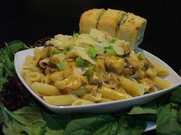 Joce's Chicken Pasta Sauce. Photo by The Flying Chef