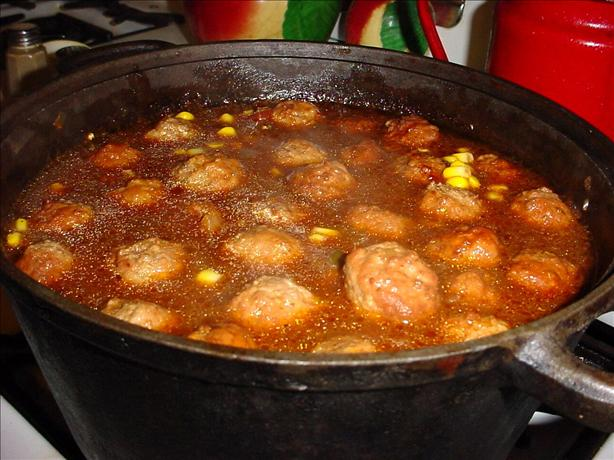 Magic Mexican Meatball Soup. Photo by True Texas