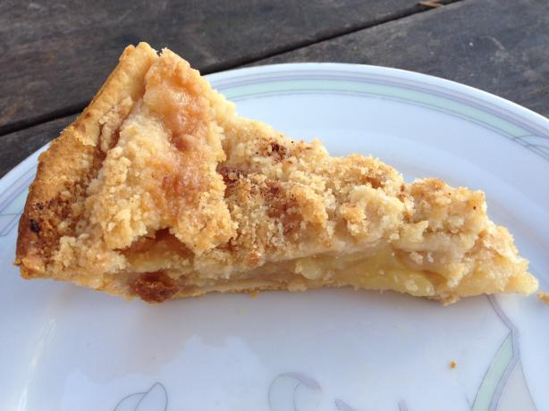 Dutch Apple Pie. Photo by Kristine at Food.com