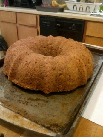 Apple Banana Cake. Photo by Chef Flo in SeMo