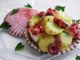 Pressure Cooker Potato & Octopus Salad