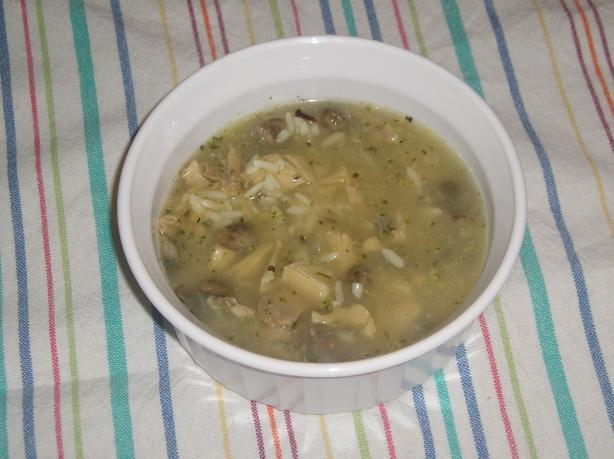 Turkey and Wild Rice Soup. Photo by Edesia