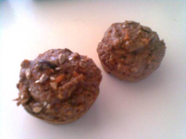 Carrot Cake Muffins, Get Tasting & Low-Fat. Photo by hard62