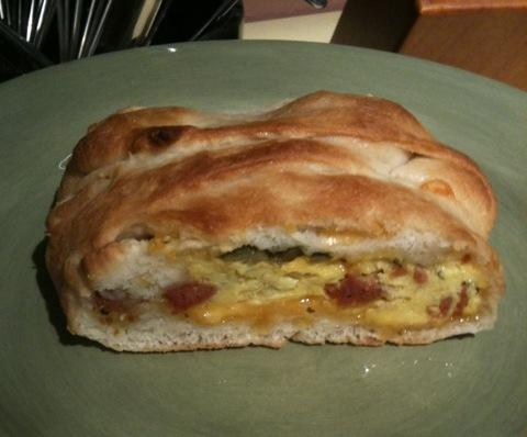 Jalapeno, Sausage, Jack, and Egg Breakfast Braid. Photo by Greeny4444