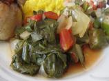 Collard Greens With Tomatoes and Garlic