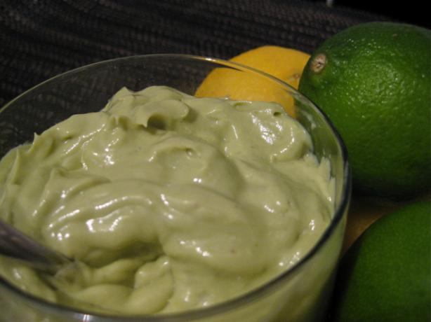Raw Vegan Key Lime Mousse. Photo by The Blender Girl