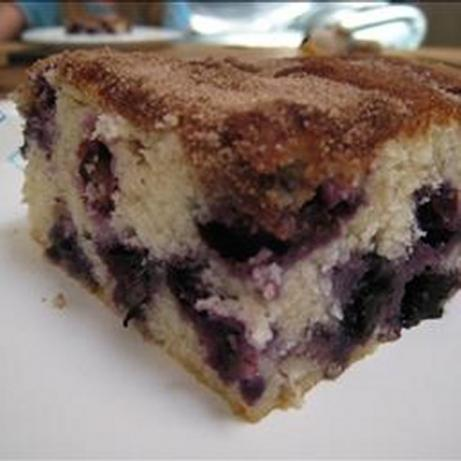 Best Ever Blueberry Coffee Cake. Photo by Recipe USA