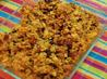 Sausage-Pumpkin Cornbread Stuffing. Recipe by GinnyP