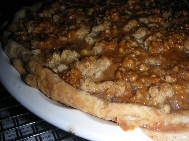 Caramel Pear Pie. Photo by RuthieRay
