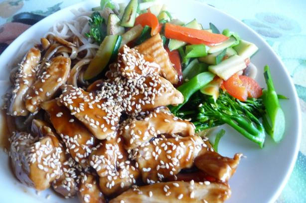 Sesame Chicken. Photo by Tea Jenny