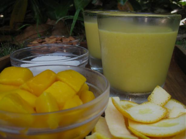 Mango Coconut Bliss Smoothie. Photo by The Blender Girl