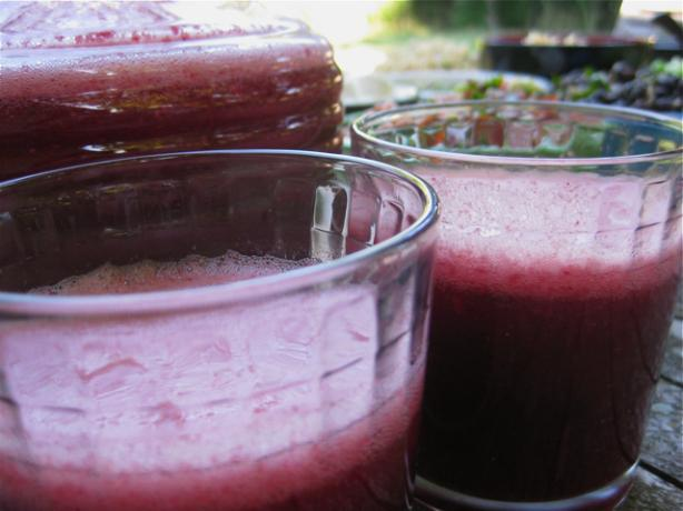 Non-Alcoholic Sangria Punch. Photo by The Blender Girl
