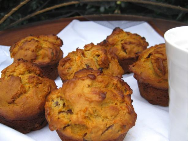 Honey Carrot and Date Muffins. Photo by The Blender Girl
