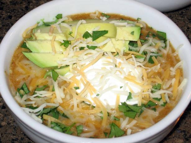 Enchilada Soup. Photo by the6-sranch