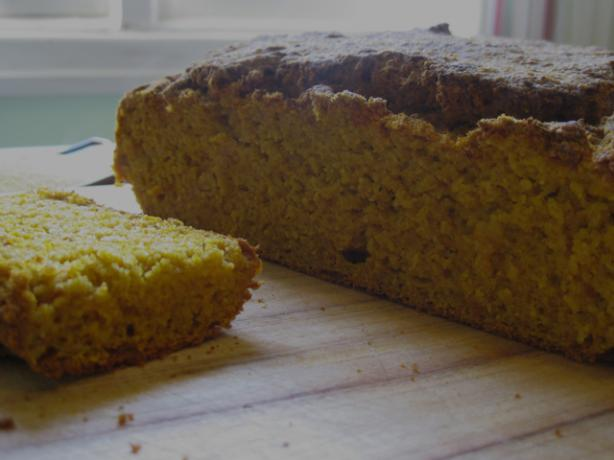 Gluten Free Pumpkin Cornbread. Photo by The Blender Girl