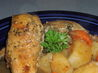 Beer-Braised Rabbit (Or Chicken) for the Crock Pot. Recipe by papergoddess