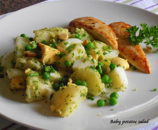Baby Potato Salad. Photo by Hanka