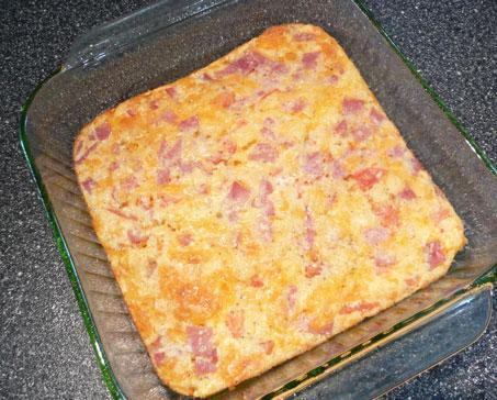 Easy Egg & Ham Casserole. Photo by Mikekey