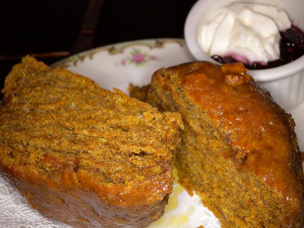 Pumpkin Scones from Alice's Tea Cup. Photo by thehappymouth