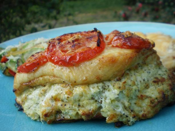 Pesto Presto Chicken (Rachael Ray). Photo by breezermom