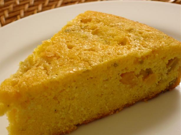 Mexican Fiesta Green Chile Cornbread. Photo by WiGal