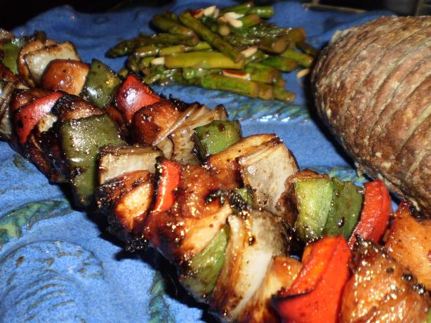 Honey Glazed Chicken Kabobs. Photo by breezermom
