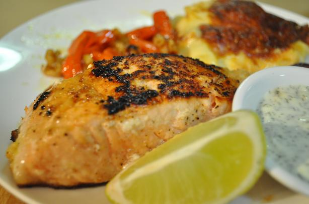 Lime and Garlic Salmon With Lime Mayonnaise. Photo by I'mPat