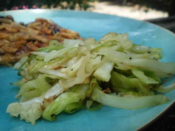 Sauteed Cabbage. Photo by breezermom