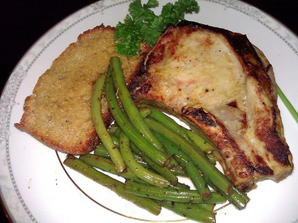 Honey-Mustard Pork Chops &ndash; Ww 4 Pointsplus. Photo by mersaydees