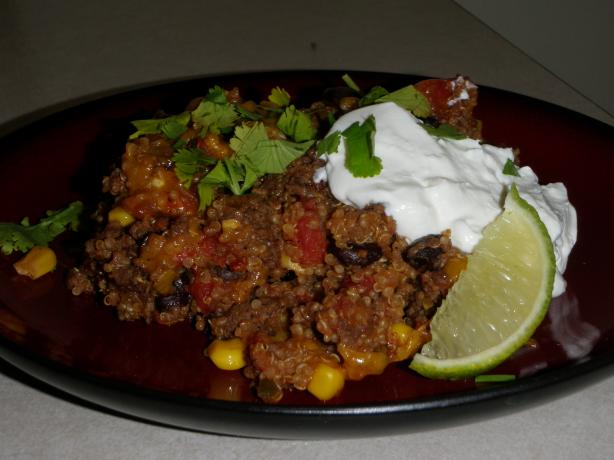 Mexican Quinoa Casserole. Photo by Captain's Lady