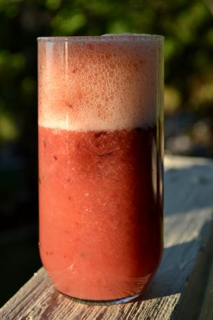 Blood Orange, Plum and Grape Juice. Photo by Hadice
