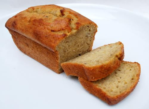 Quick and Easy Eggless Banana Bread. Photo by DorenaLong