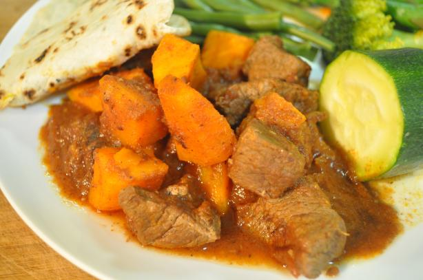 Slow-Cooked Asian Beef With Sweet Potato. Photo by I'mPat