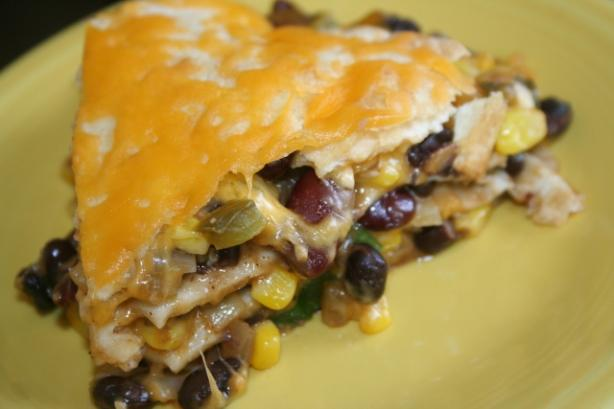 Black Bean Tortilla Pie. Photo by ~Nimz~
