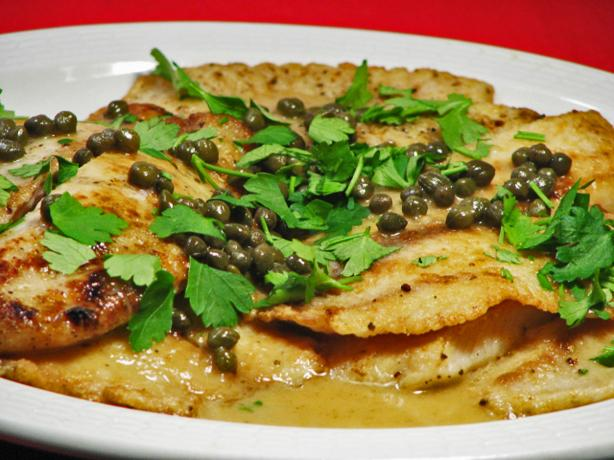 Fish Piccata- Easy and Economical. Photo by Kerfuffle-Upon-Wincle