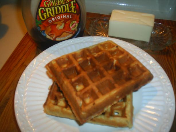 Peanut Butter Waffles. Photo by CJAY
