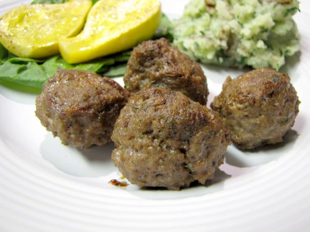 Ouzo Meatballs. Photo by loof