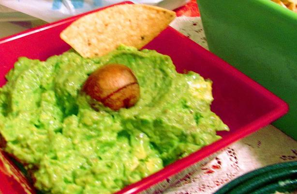 Creamy Guacamole. Photo by The Pantry Elf