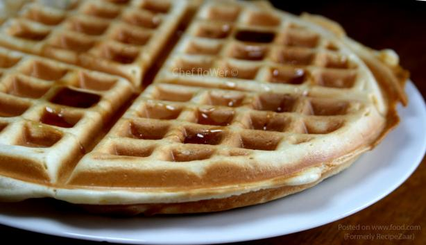Super Easy, Super Tasty Vegan Waffles. Photo by Chef floWer