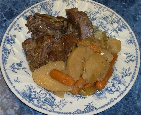 Savory Pot Roast a La Pressure Cooker. Photo by PanNan