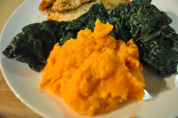 Seasoned Sweet Potato Mash. Photo by I'mPat