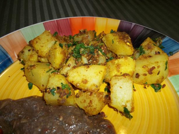 Bombay Spiced Potatoes. Photo by rpgaymer
