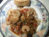 Chicken, Shrimp, and Sausage Stew
