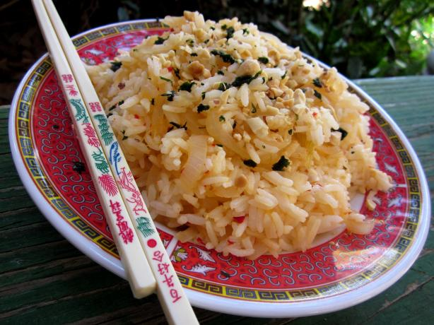 Sweet Chili & Onion Jasmine Rice. Photo by gailanng