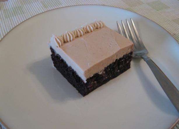 Chocolate Mocha Cake With Buttercream Mocha Icing. Photo by Olive*